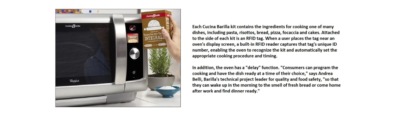 Rfid Case Study Food Cucina Barilla The Tastiest Rfid Solution Yet Avery Dennison Rfid