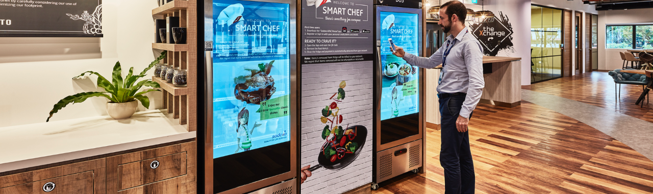 Avery Dennison helps Sodexo capture the benefits of RFID in new grab-to-go food services