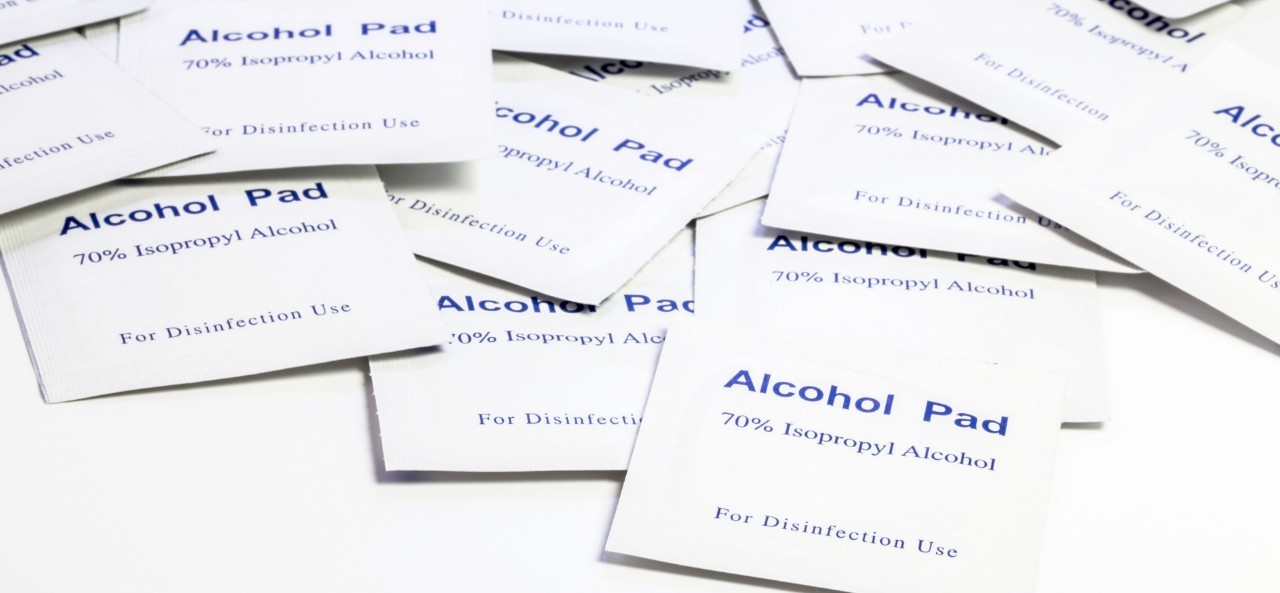 COVID Medical Alcohol Pads