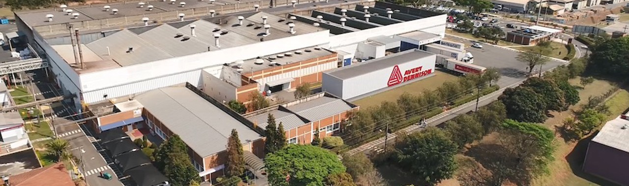 Avery Dennison new factory in Brasil